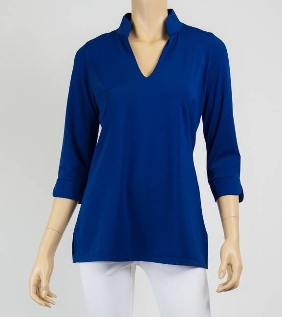 Katherine Way Largo Top Navy