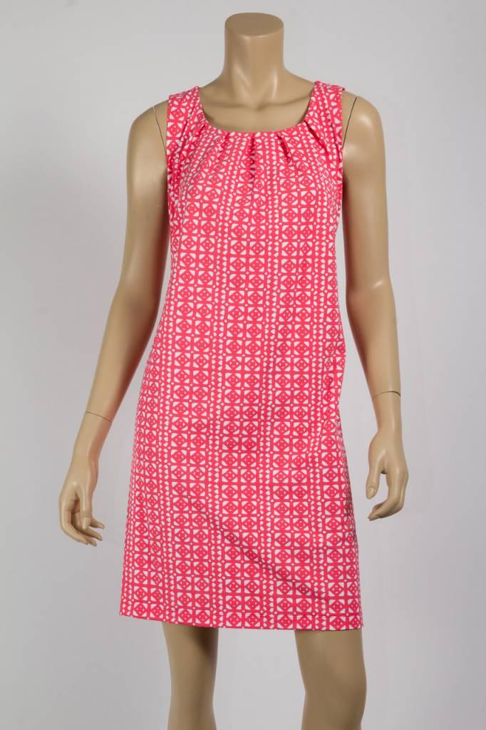 Katherine Way Bar Harbor Dress Veranda Coral