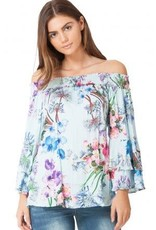 Hale Bob Aislinn Off Shoulder Top