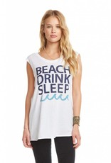 Chaser Drink Beach Sleep Tee
