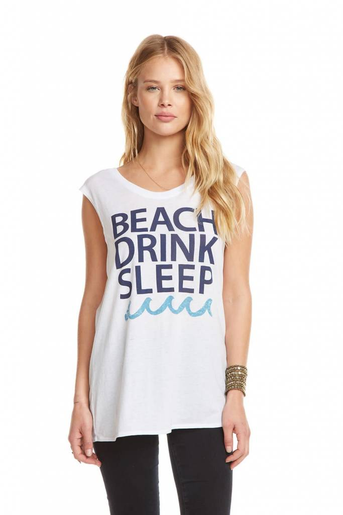 Chaser Drink Beach Sleep Tee