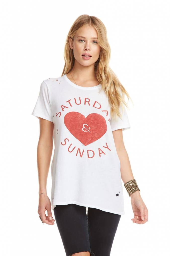 Chaser Saturday and Sunday Tee