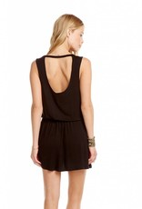 Chaser Deconstructed Tank Dress Black