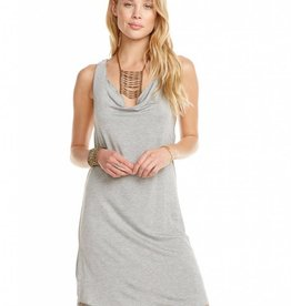 Chaser Cowl Neck Jersey Dress