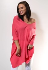 Alashan Cashmere Topper Coral Reef