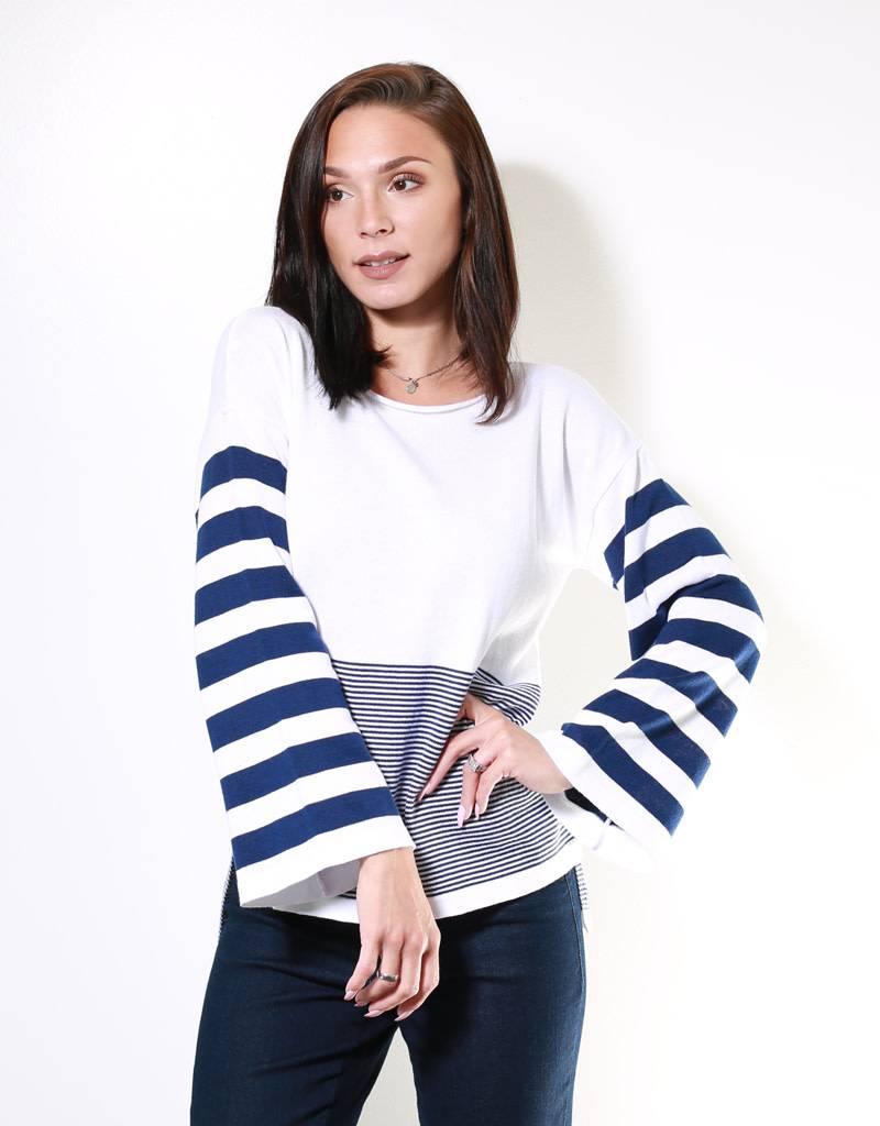 Aggel Bell Sleeve Sweater