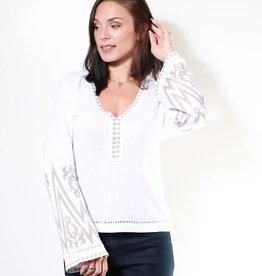 Aggel Sweater w/ Trim