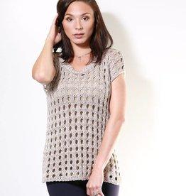 Aggel Open Weave Sweater
