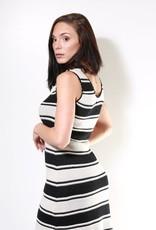 Aggel Stripe Lurex Dress