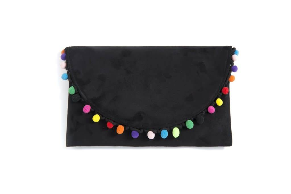 Shiraleah Dalia Clutch Black