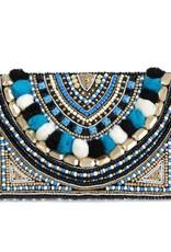 Shiraleah Shiraleah Jezebel Clutch Blue