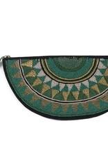 Shiraleah Samba Zip Pouch Green
