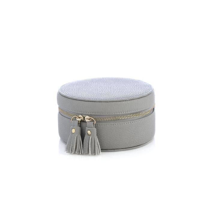 Shiraleah Gigi Jewelry Box Grey