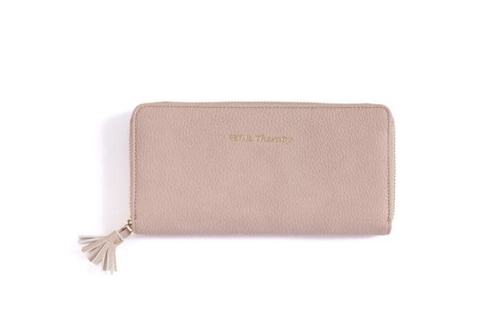 Shiraleah Shiraleah Gigi Retail Therapy Wallet Blush