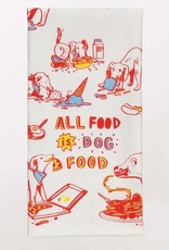 Blue Q ALL FOOD IS DOG FOOD DISH TOWEL