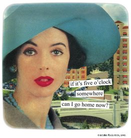 Anne Taintor Mini Tray Go Home