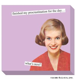 Anne Taintor Anne Taintor Sticky Notes Procrastination