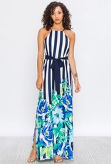 Jealous Tomato Maxi Dress with Belt