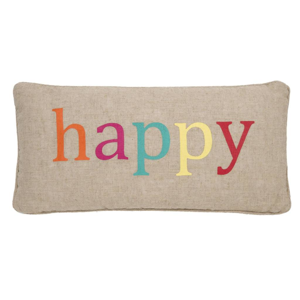 Levtex Happy Multi Pillow