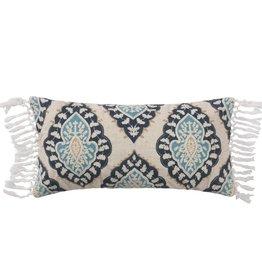 Levtex Medallion Fringe Pillow