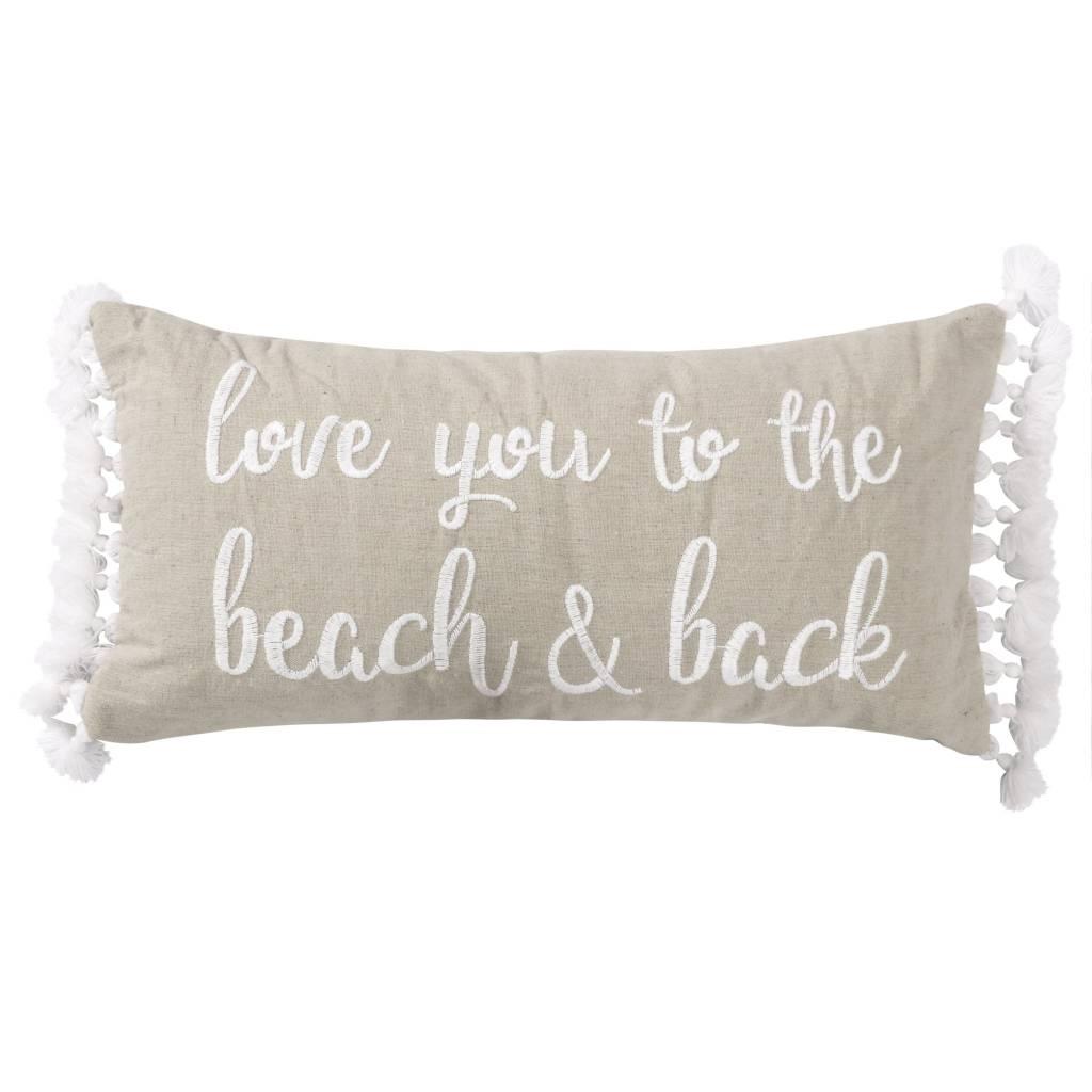 Levtex Beach and Back Pillow