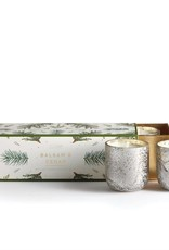 Illume Mini Trio Balsam and Cedar Candles