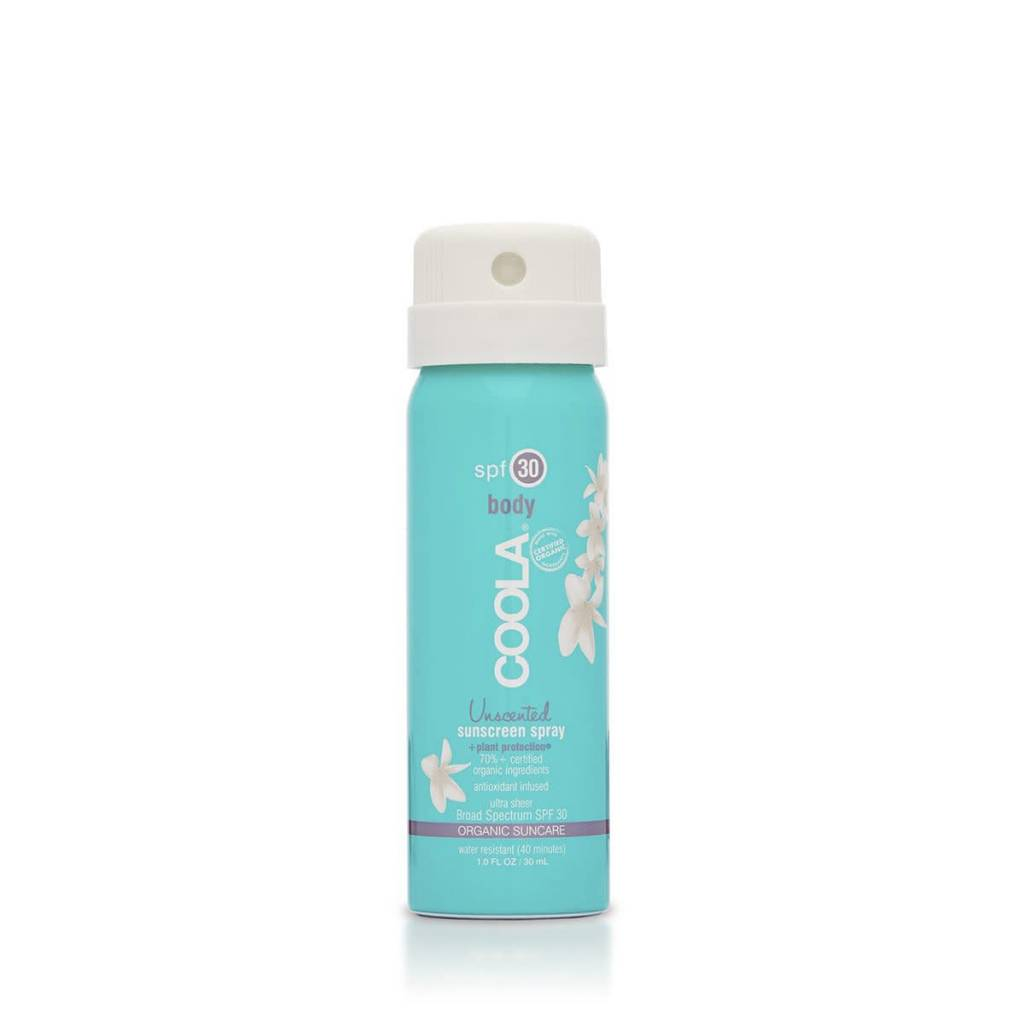 Coola Pocket Size 1oz SPF 30 Organic Sunscreen Spray