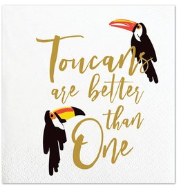 Slant Toucans Are Better Than One Napkin 20 Ct