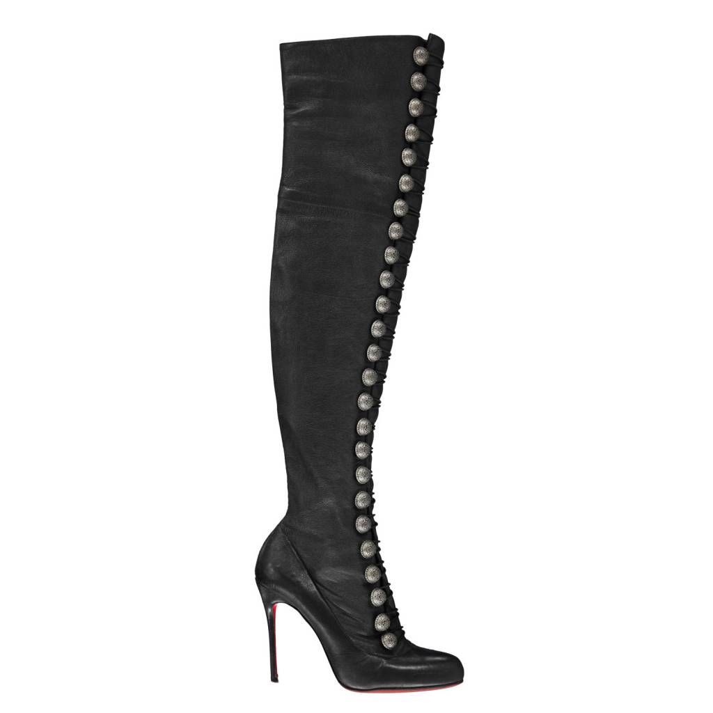 bottes cuissard louboutin