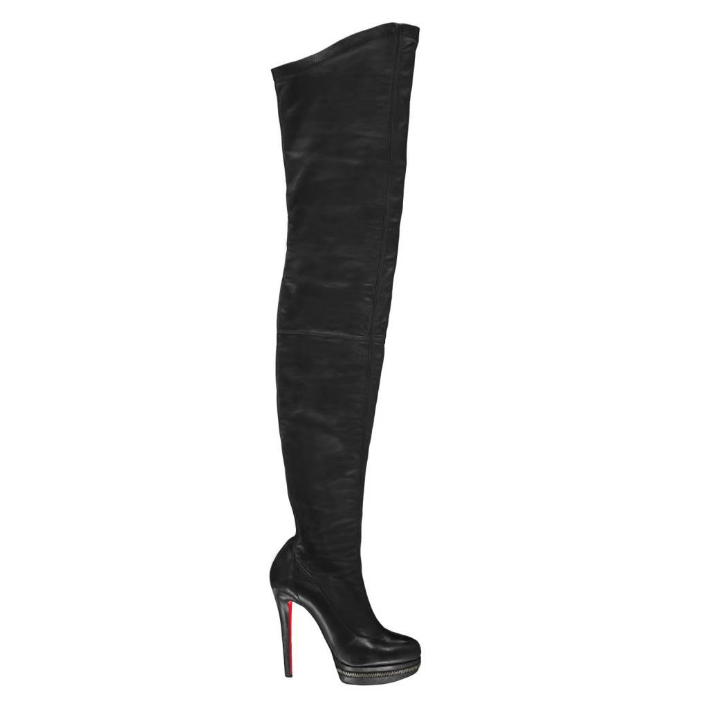 4b971eca6bd louboutin boots knee