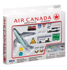 Realtoy Air Canada 12 Piece Playset