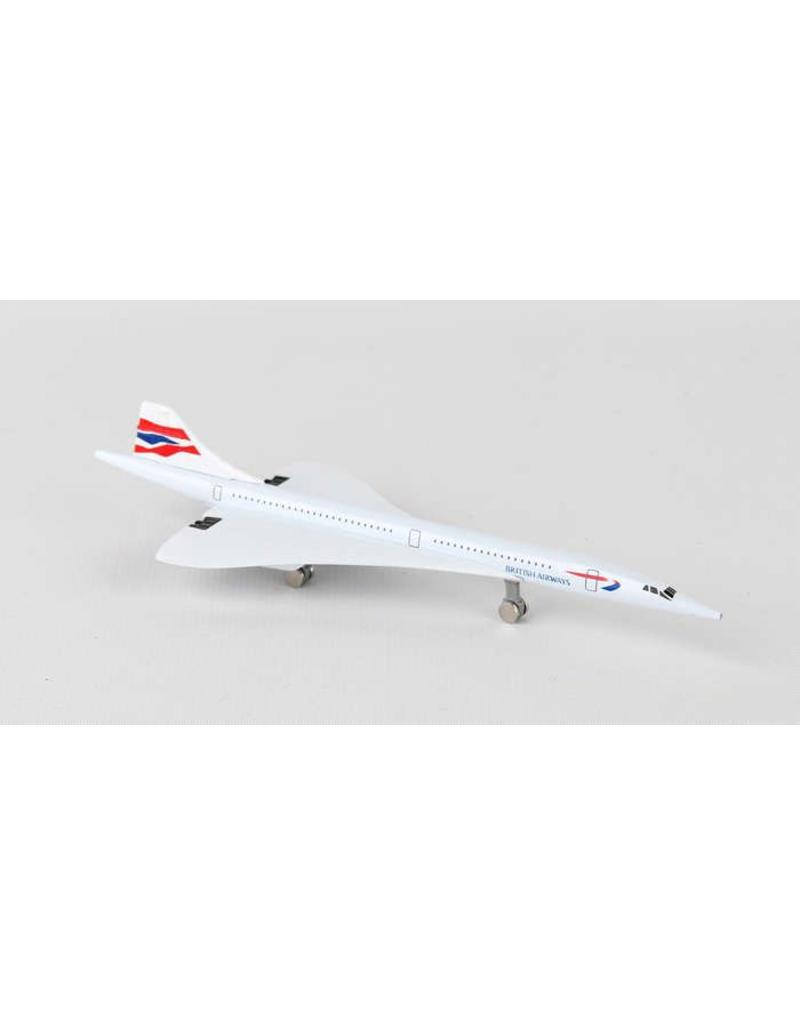 British Concorde Single Plane