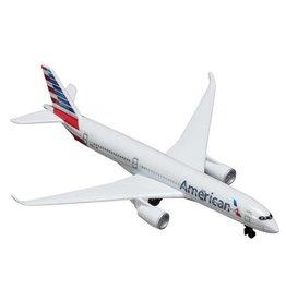 Single Plane American A350