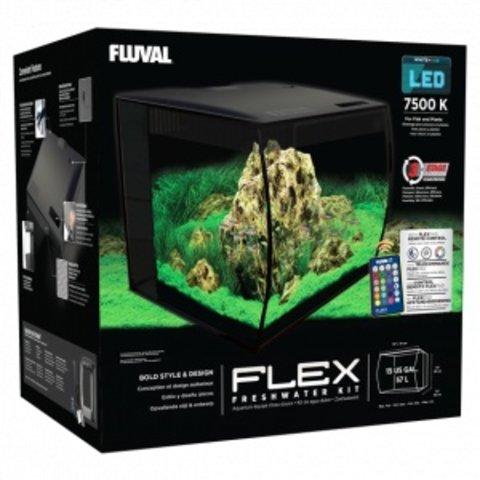 Fluval FLEX Aquarium Kit 15 Gallon