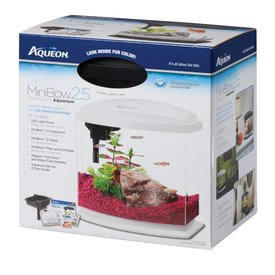 Aqueon Aqueon LED Mini Bow 2.5 gallon, White
