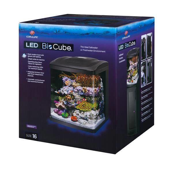 Energy Savers Unlimited Coralife LED Biocube 16 Gallon