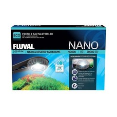 Products tagged with Fluval Nano Fresh & Saltwater LED Lamp - 6.5 W