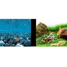 """Hagen Marina Background 18"""" Stone/Garden"""