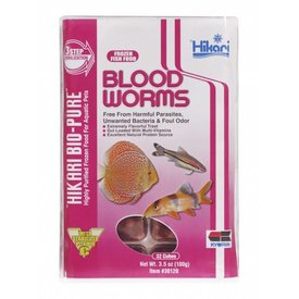 Hikari Hikari Frozen Blood Worms 4 oz