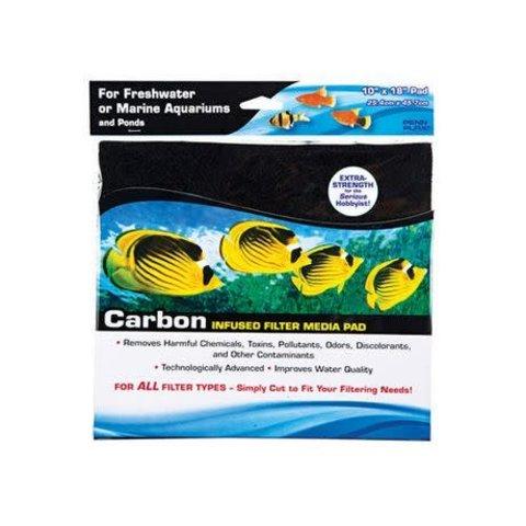 Penn Plax 10 x 18 Cut to Fit Carbon Pad