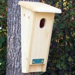 - COVESIDE SLANT-FRONT BLUEBIRD HOUSE