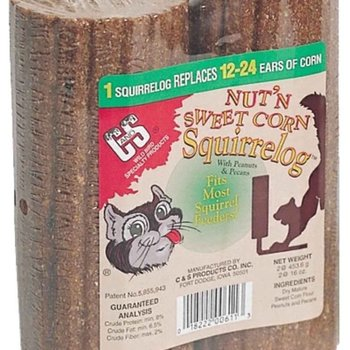 - Nut'n Sweet Corn Squirrel log