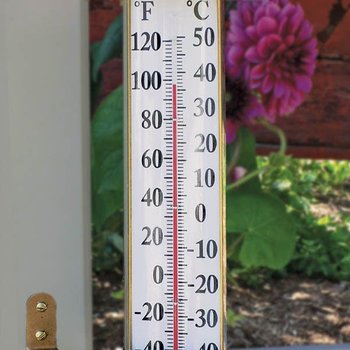 - CONANT BRASS IN/OUTDOOR THERMOMETER