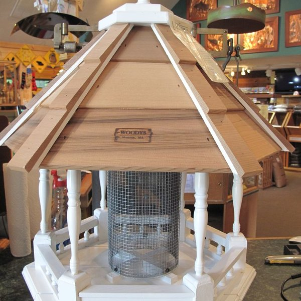-WOODY'S WILBRAHAM LARGE GAZEBO BIRD FEEDER