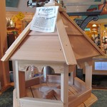 -WOODY'S PLAIN PLAIN ROOF GAZEBO LARGE FEEDER