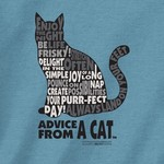 - EARTH SUN MOON ADVICE FROM CAT TSHIRT DISCONTINUED