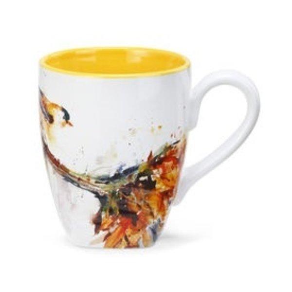 - DEMDACO GOLDFINCH COFFEE MUG 16OZ