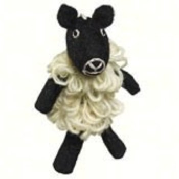 - DZI SHEEP WOOLIE FINGER PUPPET/ORNAMEN
