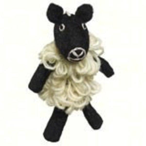 - DZI SHEEP WOOLIE FINGER PUPPET/ORNAMEN