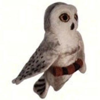 - DZI SNOWY OWL WOOLIE ORNAMENT